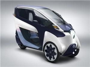 Новость про Toyota - Toyota i-Road 2013 концепт