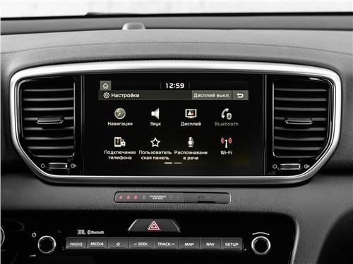 Kia Sportage GT Line 2019 монитор