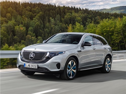 Новость про Mercedes-Benz EQC - Mercedes-Benz EQC 2020
