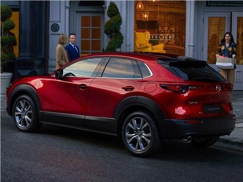 Mazda CX-30 превратили в электрокар