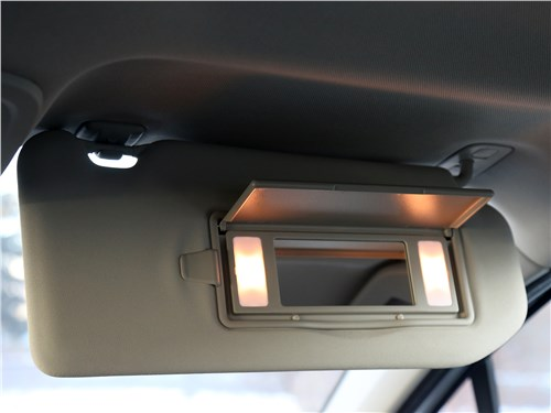 Citroen C4 2016 Зеркало в солнцезащитном козырьке