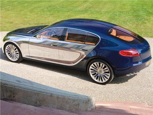 Новость про Bugatti - Bugatti создаст электрический седан