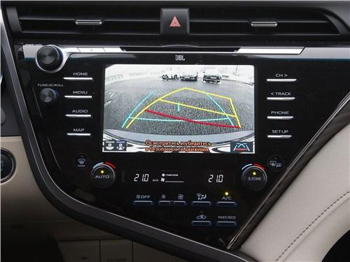 Toyota Camry 2018 центральн6ая консоль