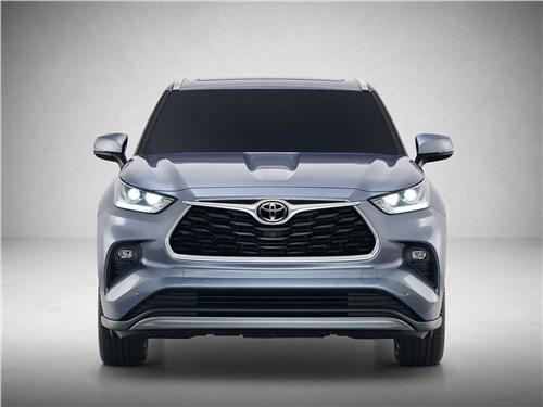 Toyota разрабатывает очень большой Highlander