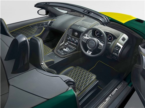 Lister | Jaguar F-Type Convertible салон