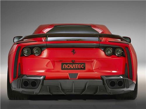Novitec | Ferrari 812 Superfast вид сзади