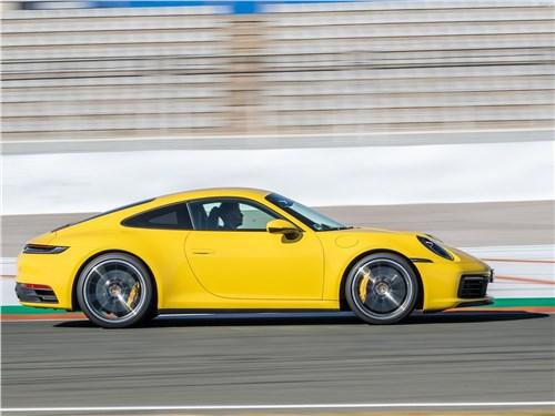 Предпросмотр porsche 911 carrera 2019 вид сбоку