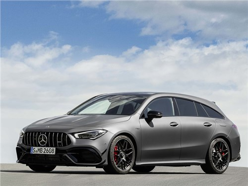 Новость про Mercedes-Benz - Mercedes-Benz CLA45 S AMG 4Matic Shooting Brake 2020