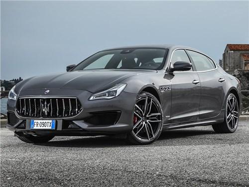 Седан и кроссовер Maserati получат уникальный интерьер