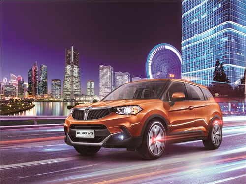 Brilliance V3 - Brilliance V3 2019 вид спереди