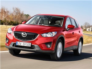 Самая мощная версия Mazda CX-5 в России