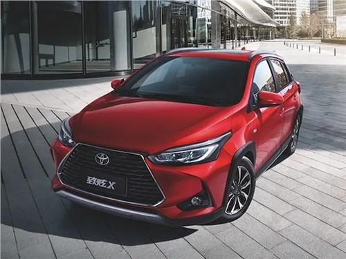 Toyota представила конкурента Kia Rio X-line