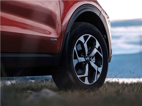 Предпросмотр kia sportage 2019 переднее колесо