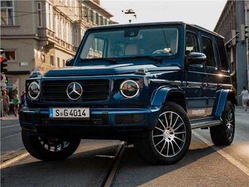 Новость про Mercedes-Benz - В Mercedes-Benz подтвердили появление электрического «Гелика»