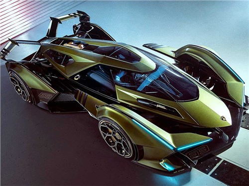 Lamborghini представила свой виртуальный суперкар
