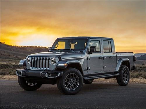 Jeep зарегистрировали российского «Гладиатора»