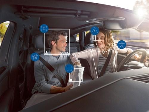 Bosch разрабатывает систему слежки за водителем и пассажирами