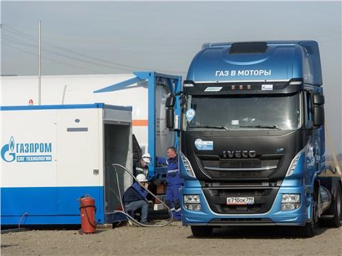 Газовый Iveco Stralis обеспечивает снижение затрат на топливо до 15% по сравнению с аналогичными автомобилями с дизельными установками