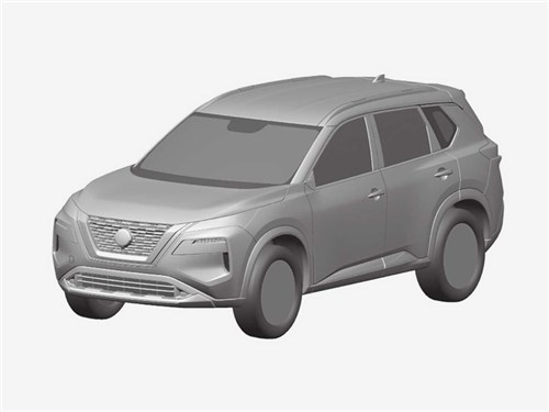 Новость про Nissan X-Trail - Новый Nissan X-Trail: внешность раскрыта