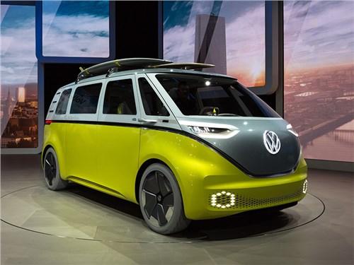 Volkswagen взбодрит сегмент минивэнов электрокарами