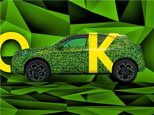 Новость про Opel Mokka - Opel Mokka меняет поколение и становится электрическим