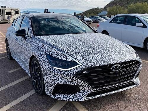 Новость про Hyundai Sonata - Hyundai Sonata N-Line