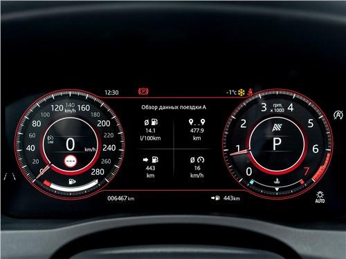 Предпросмотр jaguar xe p250 2020 приборная панель