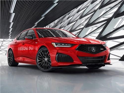 Новость про Acura TLX - Acura TLX 2021