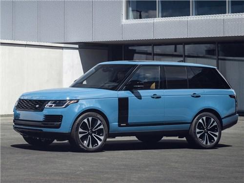 Range Rover получил спецкомплектацию в честь своего 50-летия