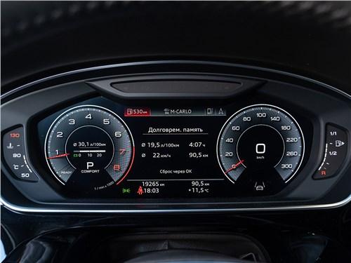 Audi A8 2018 приборная панель