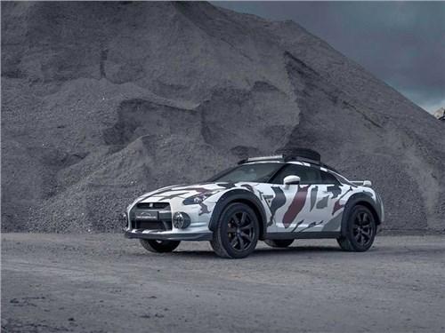 Nissan GT-R подготовили для бездорожья