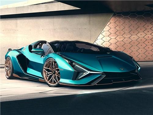 Новость про Lamborghini - Lamborghini Sian Roadster 2021
