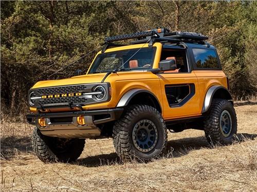 Ford представил рамный внедорожник Bronco