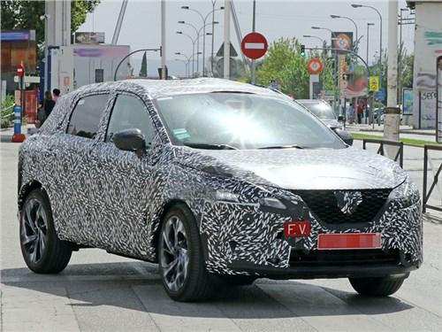 Новый Nissan Qashqai заметили во время тестов