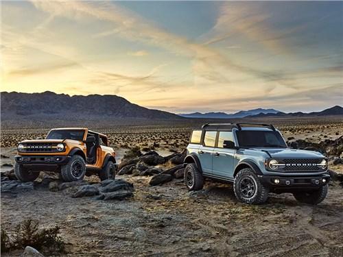 Стали известны характеристики гибридного Ford Bronco