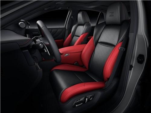 Предпросмотр lexus ls (2021) передние кресла