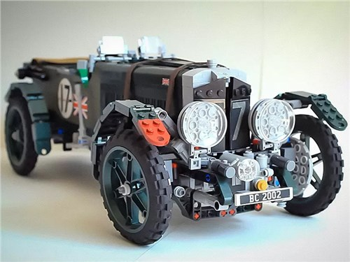 Новость про Bentley - Легендарный Bentley возвели в Lego