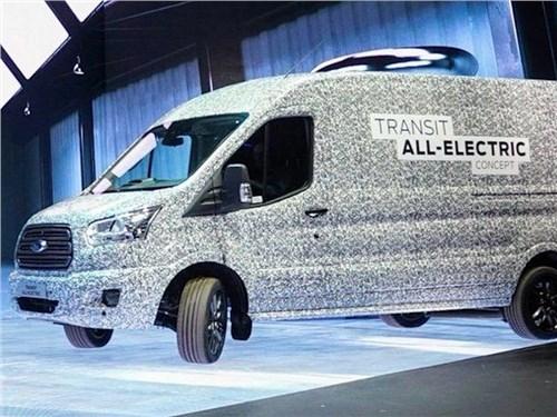 Анонсирована премьера электрического фургона Ford Transit