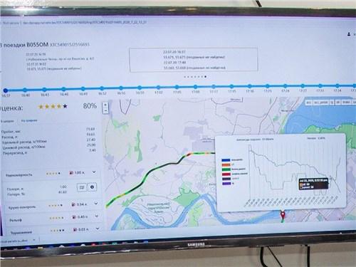 КАМАЗ разрабатывает систему, которая приучит водителей к экономичной езде