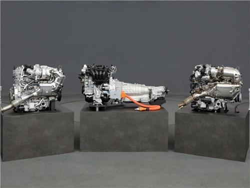 Mazda презентовала новый двигатель