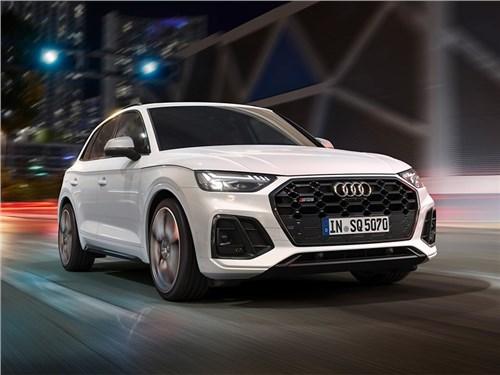 Audi обновила спортивный кроссовер SQ5