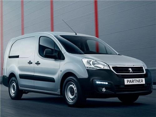 В Россию приехал Peugeot Partner