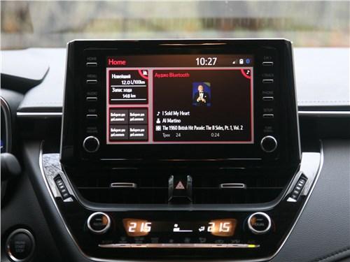 Toyota Corolla 2019 центральная консоль