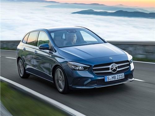 Новость про Mercedes-Benz - Mercedes-Benz B-Class (2019)