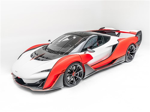 Самый быстрый McLaren рассекречен