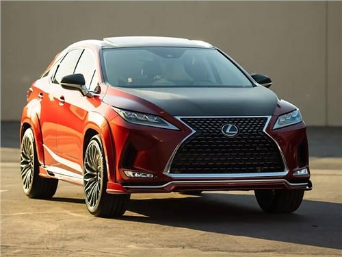 Lexus «засунул» в RX мотор V8