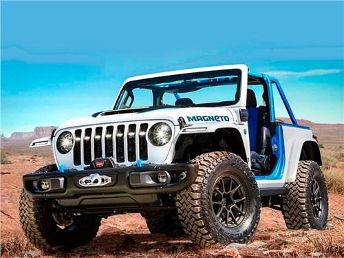 Jeep представил несколько интересных концептов на базе Wrangler