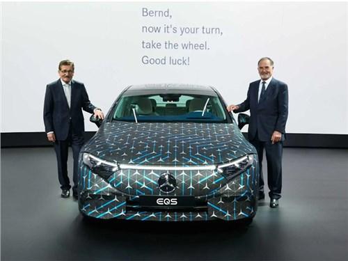 Новость про Mercedes-Benz - В Mercedes увеличили запас хода у EQS