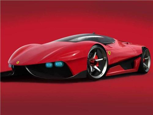 Новость про Ferrari - Ferrari анонсировала новый суперкар