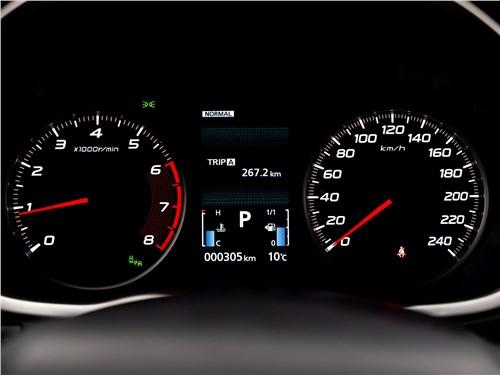 Mitsubishi Eclipse Cross (2022) приборная панель
